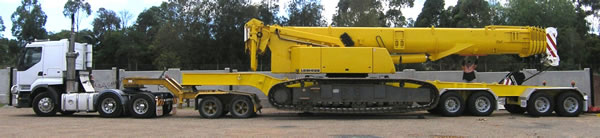 Walsh Engineering Services - Mobile Crane Transporter